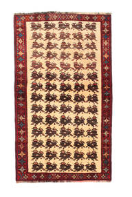 Qashqai Rug 127X205 Authentic Oriental Handknotted Brown/Dark Brown/Dark Beige (Wool, Persia/Iran)