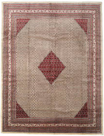 Sarouk Mir Rug 305X400 Authentic  Oriental Handknotted Light Brown/Brown Large (Wool, Persia/Iran)