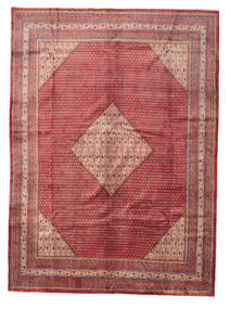 Sarouk Mir Rug 305X420 Authentic  Oriental Handknotted Dark Red/Brown Large (Wool, Persia/Iran)