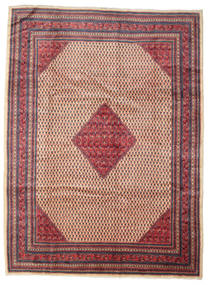 Sarouk Mir Rug 260X350 Authentic  Oriental Handknotted Brown/Dark Red Large (Wool, Persia/Iran)