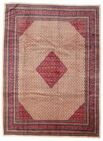Sarough Mir Alfombra 260X350 Oriental Hecha A Mano Rojo Oscuro/Marrón Grande (Lana, Persia/Irán)