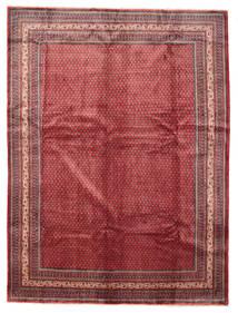 Sarough Mir Matta 295X390 Äkta Orientalisk Handknuten Röd/Brun Stor (Ull, Persien/Iran)