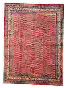 Sarouk Mir Rug 277X375 Authentic  Oriental Handknotted Dark Red/Rust Red Large (Wool, Persia/Iran)