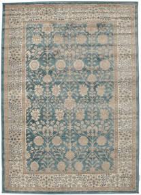 Shalini - Blå Tæppe 160X230 Moderne Lysebrun/Lysegrå ( Tyrkiet)