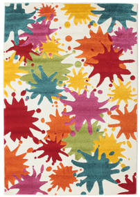 Splash Rug 120X180 Modern White/Creme/Rust Red ( Turkey)
