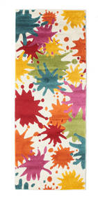 Splash Rug 80X200 Modern Hallway Runner  Beige/Orange ( Turkey)