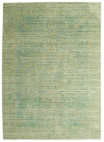 Maharani - Green Rug 140X200 Modern Light Green/Olive Green ( Turkey)