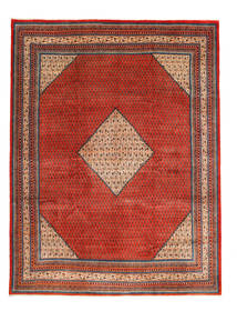 Sarouk Mir Rug 280X385 Authentic  Oriental Handknotted Rust Red/Dark Red Large (Wool, Persia/Iran)