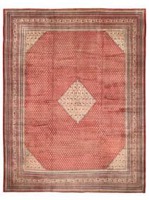 Sarough Mir Alfombra 310X425 Oriental Hecha A Mano Marrón Claro/Marrón Grande (Lana, Persia/Irán)