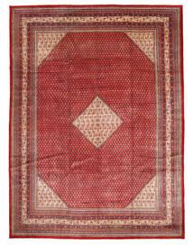 Sarough Mir Matta 310X390 Äkta Orientalisk Handknuten Brun/Roströd Stor (Ull, Persien/Iran)