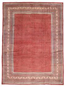 Sarough Mir Tapis 270X370 D'orient Fait Main Marron Clair/Rouge Foncé Grand (Laine, Perse/Iran)