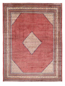 Sarouk Mir Rug 295X390 Authentic  Oriental Handknotted Purple/Light Pink Large (Wool, Persia/Iran)