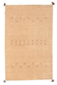Loribaf Loom Vloerkleed 116X181 Echt Modern Handgeknoopt Donkerbeige/Lichtbruin (Wol, India)