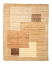 Himalaya Rug 155X193 Authentic  Modern Handknotted Dark Beige/Light Brown/Beige (Wool, India)