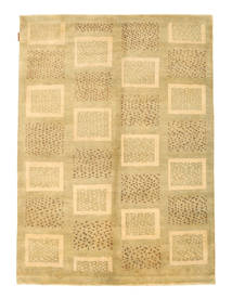 Ziegler Modern Rug 141X190 Authentic  Modern Handknotted Yellow/Light Brown (Wool, Pakistan)