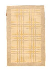 Ziegler Modern Rug 77X121 Authentic  Modern Handknotted Dark Beige/Light Brown (Wool, Pakistan)