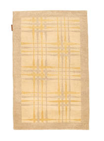 Ziegler モダン 絨毯 77X121 モダン 手織り 暗めのベージュ色の/薄茶色 (ウール, パキスタン)