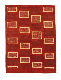 Ziegler Modern Rug 140X191 Authentic  Modern Handknotted Rust Red/Dark Beige (Wool, Pakistan)
