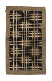 Ziegler Modern Rug 94X159 Authentic  Modern Handknotted Light Brown/Black (Wool, Pakistan)