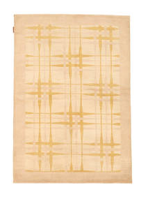 Ziegler Modern Rug 125X177 Authentic  Modern Handknotted Beige/Dark Beige (Wool, Pakistan)