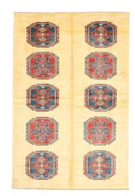Kazak Dywan 177X272 Orientalny Tkany Ręcznie Żółty (Wełna, Pakistan)