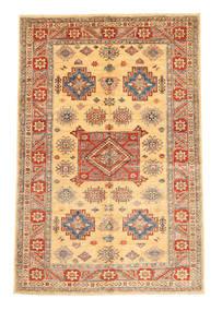 Kazak Matto 166X247 Itämainen Käsinsolmittu Tummanbeige/Vaaleanruskea (Villa, Pakistan)