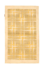 Ziegler Modern Rug 90X151 Authentic  Modern Handknotted Light Brown/Light Pink (Wool, Pakistan)