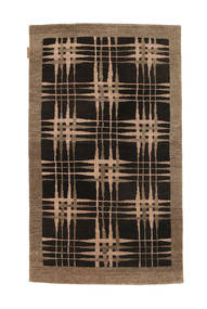 Ziegler Modern Rug 92X153 Authentic  Modern Handknotted Black/Brown (Wool, Pakistan)