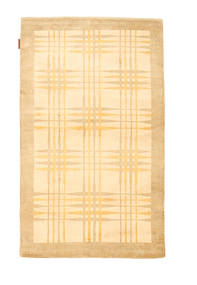 Ziegler Modern Rug 92X155 Authentic  Modern Handknotted Dark Beige/Light Brown (Wool, Pakistan)