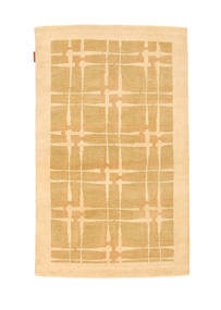 Ziegler Modern Rug 95X152 Authentic  Modern Handknotted Light Brown/Light Pink (Wool, Pakistan)