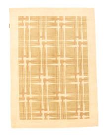 Ziegler Modern Rug 140X194 Authentic  Modern Handknotted Dark Beige/Light Brown (Wool, Pakistan)