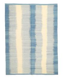 キリム モダン 絨毯 207X280 モダン 手織り ベージュ/薄い灰色/水色 (ウール, アフガニスタン)