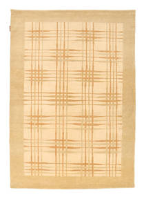 Ziegler Modern Rug 141X200 Authentic Modern Handknotted Dark Beige/Light Pink/Light Brown (Wool, Pakistan)