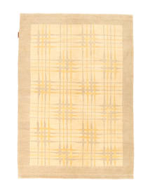 Ziegler Modern Rug 126X180 Authentic  Modern Handknotted Dark Beige/Yellow (Wool, Pakistan)