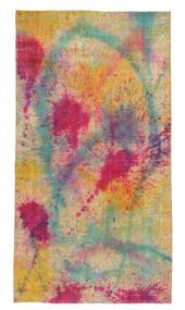 Colored Vintage Tapete 144X265 Moderno Feito A Mão Castanho Claro/Roxo (Lã, Turquia)