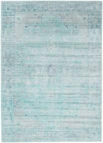 Maharani - Niebieski Dywan 160X230 Nowoczesny Jasnoszary/Pastel Zielony ( Turcja)