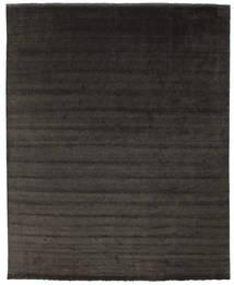 Handloom fringes - Schwarz / grau Teppich CVD13318