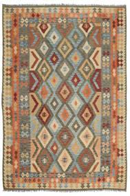 Kelim Afghan Old Style Tæppe 205X304 Ægte Orientalsk Håndvævet (Uld, Afghanistan)