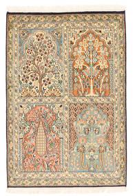 Kashmir ren silke teppe XVZC90