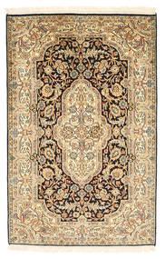 Kashmir pure silk carpet XVZC151