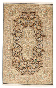 Kashmir pure silk carpet XVZC222