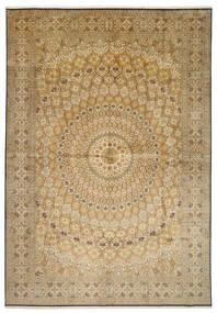 Kashmir pure silk rug XVZC542