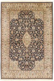 Kashmir pure silk carpet XVZC299