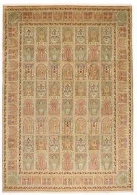 Kashmir pure silk carpet XVZC527