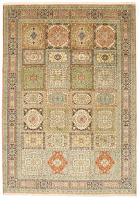 Kashmir pure silk carpet XVZC468