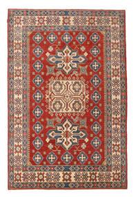 Kazak Matta 225X340 Äkta Orientalisk Handknuten Mörkröd/Mörkgrå (Ull, Pakistan)