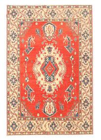 Kazak Teppe 190X283 Ekte Orientalsk Håndknyttet Orange/Beige (Ull, Pakistan)
