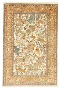 Kashmir tiszta selyem figurák / képek szőnyeg XVZC430