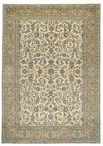 Keshan Patina Signed: Tabatabai Rug 275X390 Authentic  Oriental Handknotted Beige/Dark Grey Large (Wool, Persia/Iran)