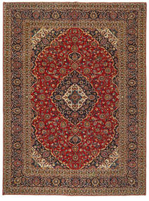 Keshan Patina Rug 304X414 Authentic  Oriental Handknotted Dark Red/Light Brown Large (Wool, Persia/Iran)